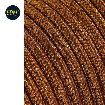 comprar CABLE  2X0,75MM MARRON BRILLANTE 25MTS  precio 1,79 €