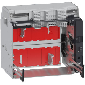 Chassis for Masterpact MTZ1 16 H1/H2/H3 - 06/10 L1 - 1600 A - 4P ref. LV833726 Schneider Electric [PLAZO 8-15 DIAS]