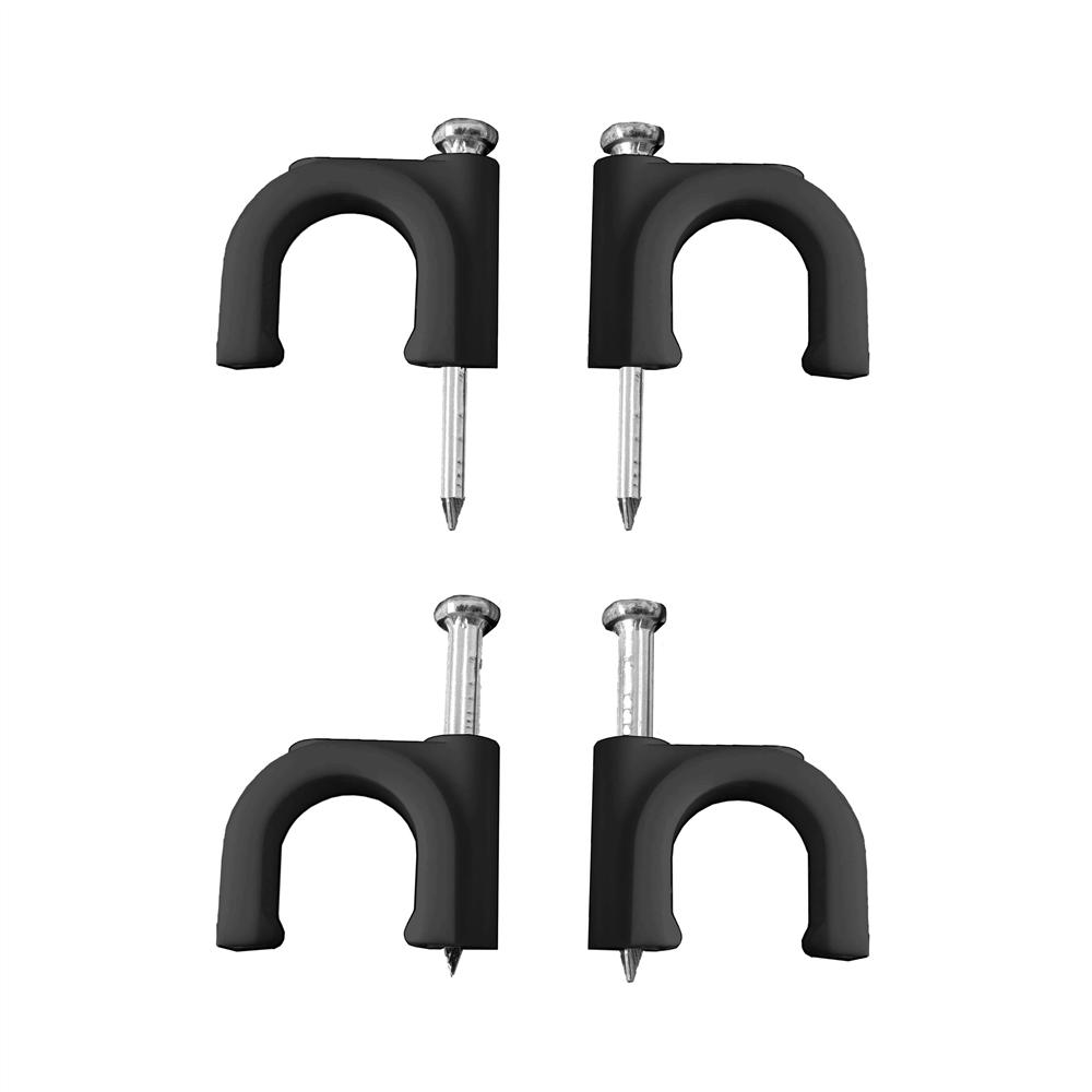 comprar GRAPA NEGRA CABLE MANGUERA TUBULAR 2x4 Nº 9 (CAJA 100UNI)  pr
