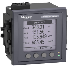 PM5310R Meter, modbus, up to 31st H, 256K 2DI/2DO 35 alarms, RJ45 LVCT ref. METSEPM5310R Schneider Electric [PLAZO 8-15 DIAS]