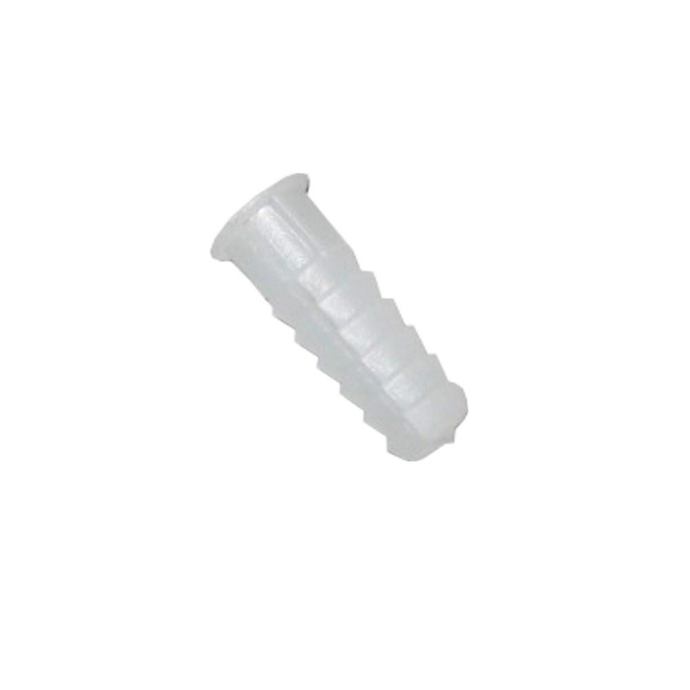 comprar TACO PLASTICO BLANCO Nº 6 (BOLSA 25 UNI)  precio 0,49 €